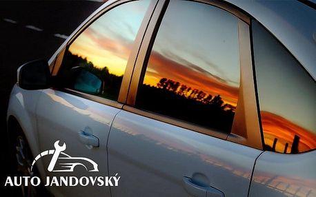 Tónování skel vašeho auta americkými fóliemi Llumar v Auto Moto Centru Jandovský v Praze