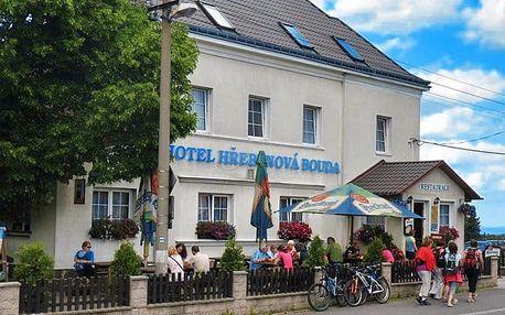 3–6denní pobyt pro 2 s polopenzí v hotelu Hřebenová bouda v CHKO Labské pískovce