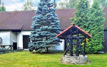 3–5denní pobyt pro 2 se snídaní ve venkovském statku u penzionu Najdek v jižních Čechách