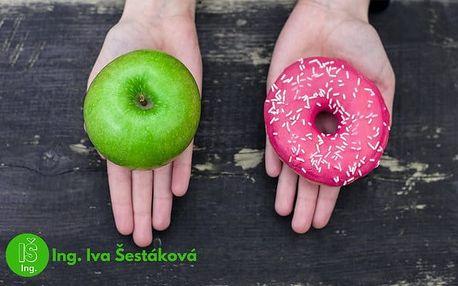 Konzultace a sestavení jídelníčku s výživovou specialistkou Ing. Ivou Šestákovou v Praze