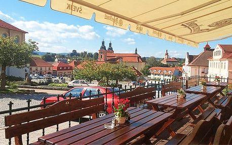 3 až 5denní pobyt pro 2 s polopenzí v hotelu U Zeleného stromu na Plzeňsku