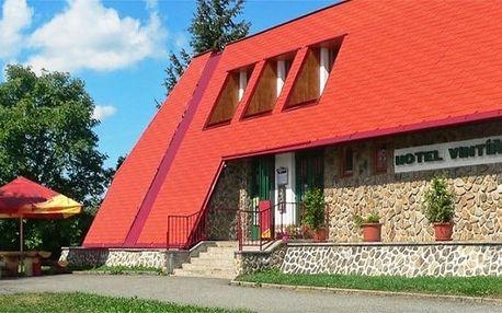 2–4denní pobyt s polopenzí pro 2 v hotelu Vintíř Hartmanice na Šumavě