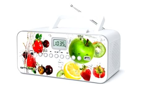 Radiopřijímač s CD MUSE M-28 VF