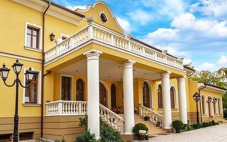 3–5denní pobyt s polopenzí a bazénem pro 2 v hotelu Plauter Kúria*** ve Veľkém Mederu
