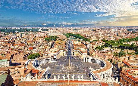 5denní zájezd do Vatikánu a 5 italských měst s výstupem na Vesuv pro 1