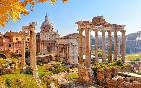 Krásy jižní Itálie, Řím, Vatikán, Neapol, Vesuv, Pompeje a ost...