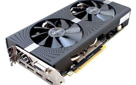 SAPPHIRE TECH. SAPPHIRE NITRO+ RADEON RX 580 / 4GB GDDR5 / PCI-E / 2x HDMI / DVI-D / 2x DP / active