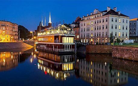 3–4denní pobyt s polopenzí v hotelu Tumski v polské Vratislavi pro 2 osoby