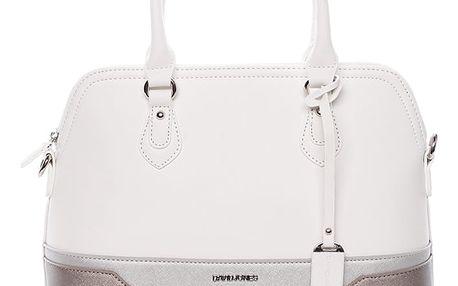 Originální dámská kabelka do ruky bílá - David Jones Tilly bílá