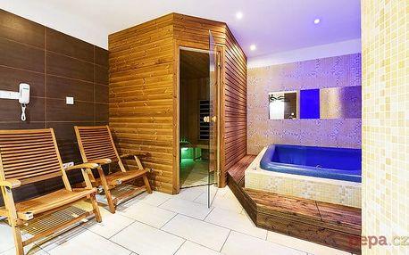 2–4denní romantický wellness pobyt pro 2 v rekreačním středisku Budoucnost v Beskydech