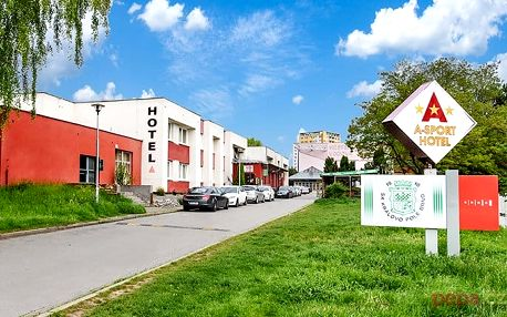 3 až 6denní letní pobyt se snídaněmi pro 2 v A Sport hotelu v Brně