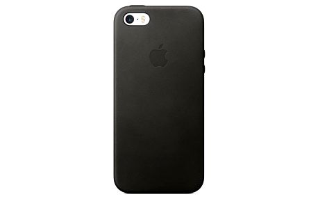 Kryt na mobil Apple Leather Case pro iPhone 5S/SE (mmhh2zm/a) černý