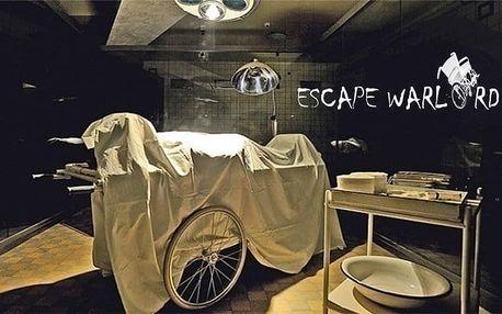 Úniková hra Laboratoř Dr. Moreaua od Escape Warlord pro 4–6 osob v Praze