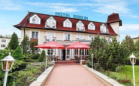 3 až 6denní pobyt pro 2 s polopenzí v hotelu Berlín v Mariánských Lázních