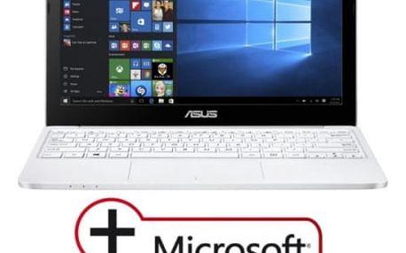 "Notebook Asus E200HA-FD0080TS (E200HA-FD0080TS) bílý x5-Z8350, 4GB, 32GB, 11.6"", HD, bez mechaniky, Intel HD, BT, CAM, W10"