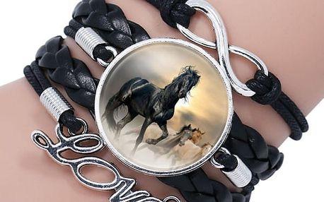 Sada náramků - koňská láska