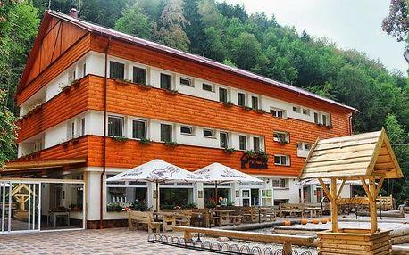 3–4denní pobyt pro 2 s polopenzí v penzionu Svätopluk v Nízkých Tatrách