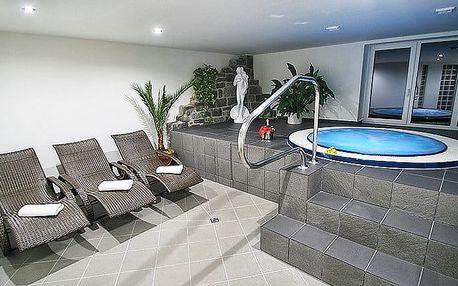 3denní pobyt s wellness a polopenzí pro 2 v hotelu Hrazany u Slapské přehrady