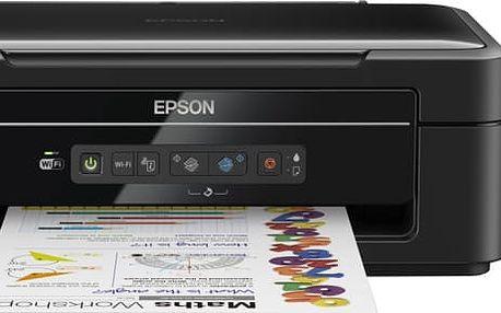 Epson L386, tankový systém - C11CF44401 + HDD Verbatim 250GB + PRN náplň pro EPSON C13T66434A, purpurová v ceně 169,- + PRN náplň pro EPSON C13T66444A, žlutá v ceně 169,- + PRN náplň pro EPSON C13T66424A, azurová v ceně 169,-