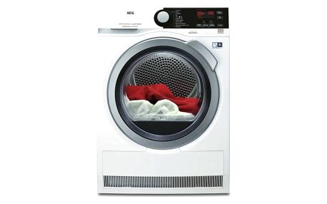 Sušička prádla AEG AbsoluteCare® T8DBE48SC bílá + Doprava zdarma