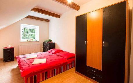 3–7denní pobyt pro 8–16 osob v apartmánu penzionu U medvěda v Jeseníkách