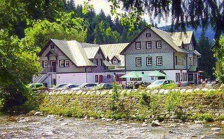 3denní pobyt pro 2 s možností wellness v hotelu Hradec ve Špindlerově Mlýně
