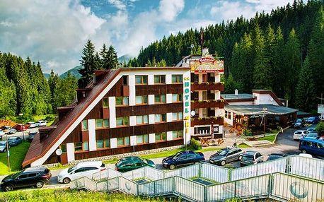 3 až 6denní letní pobyt pro 2 s polopenzí v hotelu SKI v Nízkých Tatrách