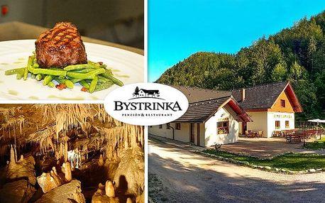 3–6denní wellness pobyt s polopenzí pro 2 v penzionu Bystrinka v Nízkých Tatrách