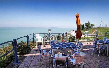6denní pobyt pro 1 s polopenzí a neomezeným wellness v hotelu Móló*** u Balatonu
