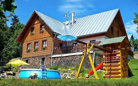 3 až 5denní pobyt s polopenzí a bazénem pro 2 v penzionu Erlebach v Krkonoších