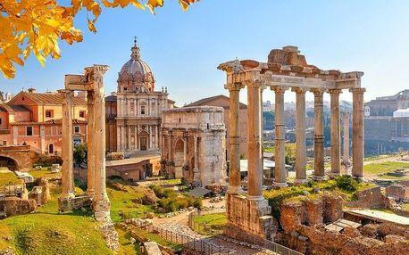 Krásy jižní Itálie, Řím, Vatikán, Neapol, Vesuv, Pompeje a ost..., Kampánie, Itálie, autobusem, snídaně v ceně