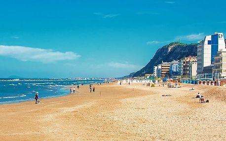8denní pobyt u moře v italském městě Pesaro v hotelu Majestic*** pro 1
