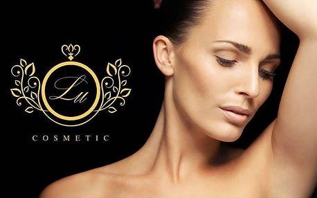 Dámský zkrášlující kosmetický balíček i s regenerační masáží v Salonu Lu Cosmetic u Brna