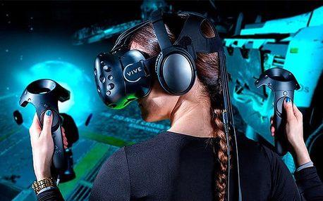 60 minut ve virtuální realitě pro 1–6 hráčů ve VRBrno