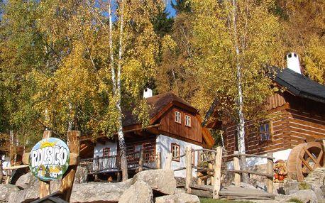Podzimní Pohádková vesnička pro dva a 2 děti do 12 let zdarma