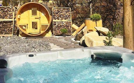 3 nebo 4denní romantický pobyt pro 2 s wellness v penzionu Bystrinka v Nízkých Tatrách