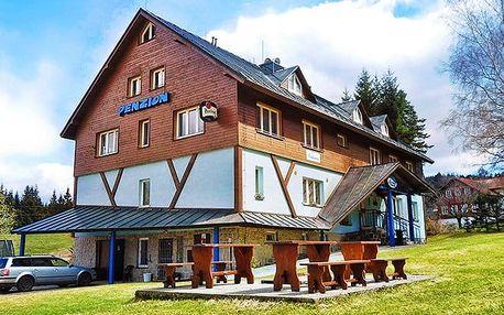 4–7denní pobyt pro 2 v penzionu Lenka v Jizerských horách