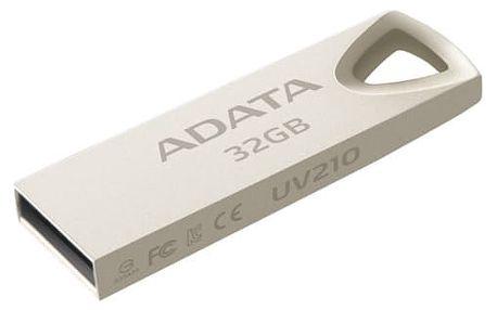 USB Flash A-Data UV210 32GB (AUV210-32G-RGD) kovová USB 2.0