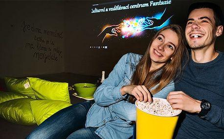 Kino o samotě pro 2–4 osoby dle vašich představ v Centru Fantazie v Ostravě