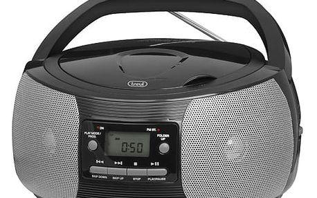 Rádiopřehrávač s CD Trevi CMP 524 černý