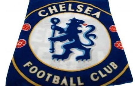 CurePink Fleecová deka FC Chelsea