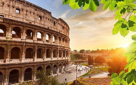 5denní zájezd do Říma, Vatikánu, Neapole, Herculanea a Pompejí s výstupem na Vesuv pro 1