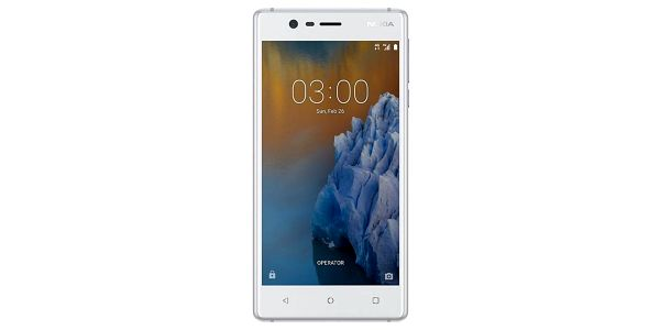 Smartphone Nokia 3, dual SIM, bílá 11NE1S01A14