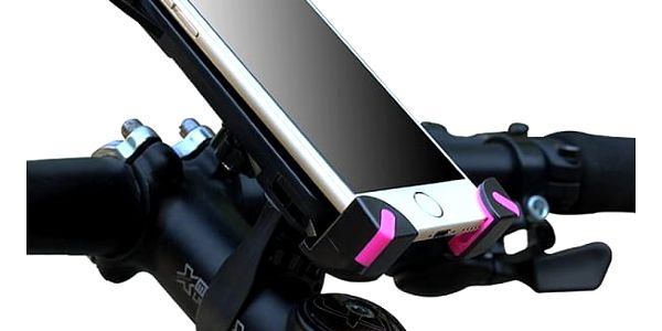 Univerzální držák telefonu či GPS na kolo - 2 barvy