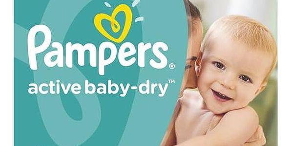 Plenky Pampers Active Baby Monthy Box S5 150 ks + Doprava zdarma