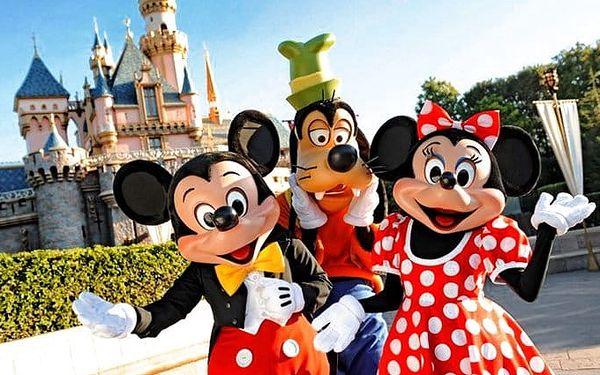 3denní zájezd pro 1 do Disneylandu v Paříži se zastávkou u Eiffelovy věže