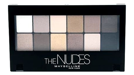 Maybelline The Nudes Eyeshadow Palette 9,6 g oční stín W
