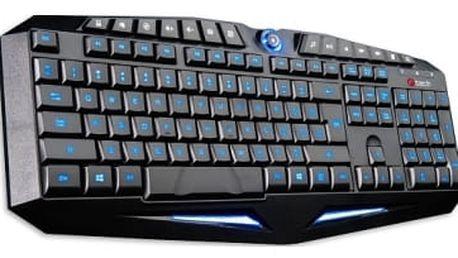 Klávesnice C-Tech GKB-12-BL, CZ/SK (GKB-12-BL) černá