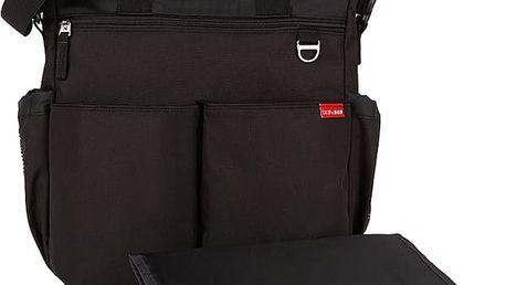 SKIP HOP Přebalovací taška Duo Signature - černá