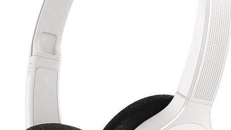 Sluchátka Philips SHB4000, bílá